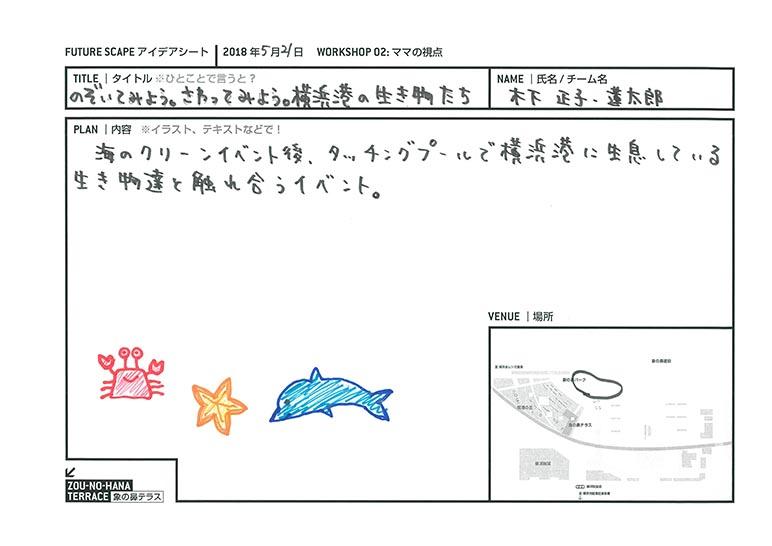 のぞいてみよう。さわってみよう。横浜港の生き物たち
