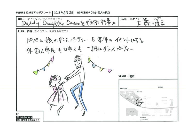 Daddy Daughter Danceを恒例行事に